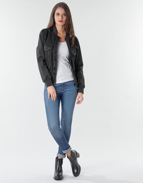 Clothing Women Skinny jeans G-Star Raw 3301 Ultra High Super Skinny Wmn Dk / Aged