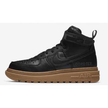 Shoes Hi top trainers Nike Air Force 1 Gore-Tex Boot ?Black Gum? Black/Anthracite-Gum Medium Brown
