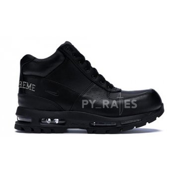Shoes Hi top trainers Nike Supreme x Nike Air Max Goadome Black/Black