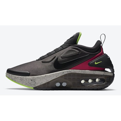 Shoes Hi top trainers Nike Adapt Auto Max ?Fireberry? Black/Fireberry-Electric Green-Black