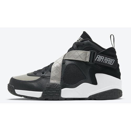 Shoes Hi top trainers Nike Air Raid Black/Grey-White
