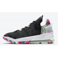 Shoes Hi top trainers Nike LeBron 18 ?James Gang? Black/Multi-Color-White