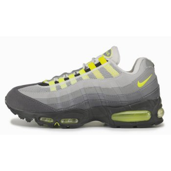 Shoes Hi top trainers Nike Air Max 95 OG ?Neon? Black/Neon Yellow-Light Graphite
