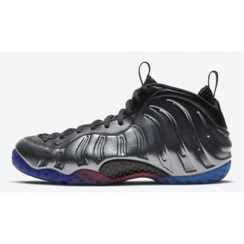 Shoes Hi top trainers Nike Air Foamposite One Black/Team Royal-Team Orange-Black