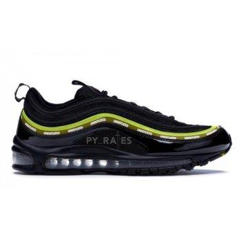 Shoes Hi top trainers Nike Undefeated x Nike Air Max 97 Black/Volt-Militia Green-White