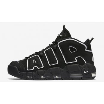 Shoes Hi top trainers Nike Air More Uptempo Black/White