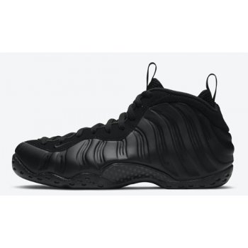 Shoes Hi top trainers Nike Air Foamposite One ?Anthracite? Black/Wolf Grey-Anthracite-Black