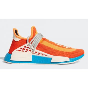Shoes Hi top trainers adidas Originals Pharrell x adidas NMD Hu ?Extra Eye? Bold Orange/Bold Aqua-Pink