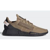 Shoes Hi top trainers adidas Originals NMD R1 V2 Cardboard/Cardboard-Core Black