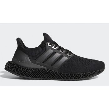Shoes Hi top trainers adidas Originals Ultra 4D ?Triple Black? Core Black/Core Black-Core Black
