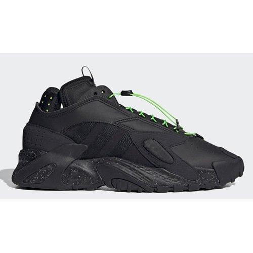 Shoes Hi top trainers adidas Originals Streetball Core Black/Core Black-Solar Green