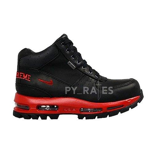 Shoes Hi top trainers Nike Supreme x Nike Air Max Goadome Fire Red/Black