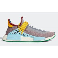 Shoes Hi top trainers adidas Originals Pharrell x adidas NMD Hu ?Extra Eye? Legacy Purple/Off White-Light Aqua