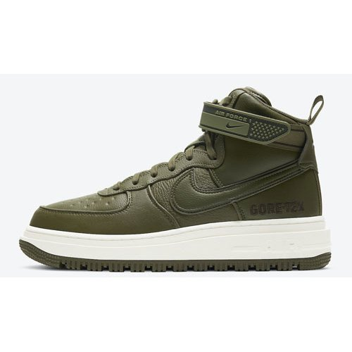Shoes Hi top trainers Nike Air Force 1 Gore-Tex Boot ?Medium Olive? Medium Olive/Seal Brown-Sail