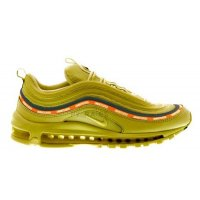 Shoes Hi top trainers Nike Undefeated x Nike Air Max 97 Militia Green/Black-Orange Blaze-White