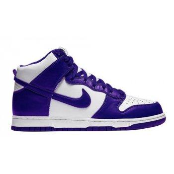 Shoes Hi top trainers Nike Dunk High WMNS ?Varsity Purple? Varsity Purple