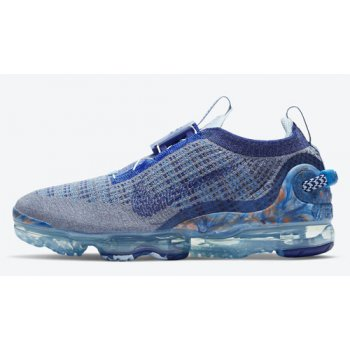 Shoes Hi top trainers Nike Air VaporMax 2020 Stone Blue/Deep Royal Blue-Glacier Blue
