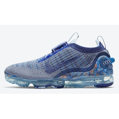 Shoes Hi top trainers Nike Air VaporMax 2020 Stone Blue/Deep Royal Blue-Glacier Blue