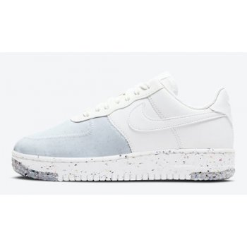 Shoes Hi top trainers Nike Air Force 1 Crater WMNS ?Summit White? Summit White/Summit White