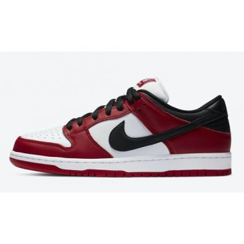 Shoes Hi top trainers Nike SB Dunk Low Pro ?Chicago? Varsity Red/White-Varsity Red-Black