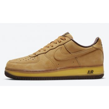 Shoes Hi top trainers Nike Air Force 1 Low ?Wheat Mocha? Wheat/Wheat-Dark Mocha