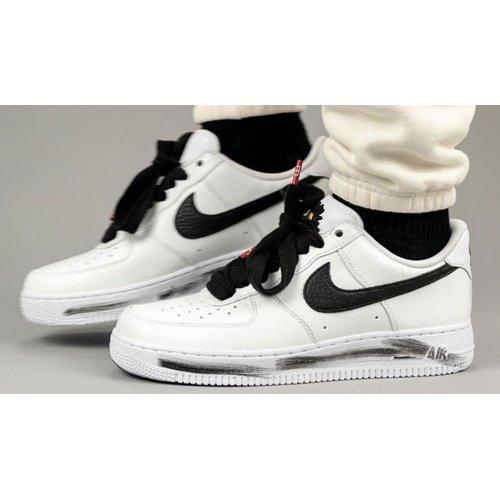 Shoes Hi top trainers Nike PEACEMINUSONE x Nike Air Force 1 ?Para-Noise 2.0? White/Black-White