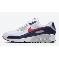 Shoes Hi top trainers Nike Air Max 90 WMNS ?Eggplant? White/Eggplant-Flare-Zen Grey
