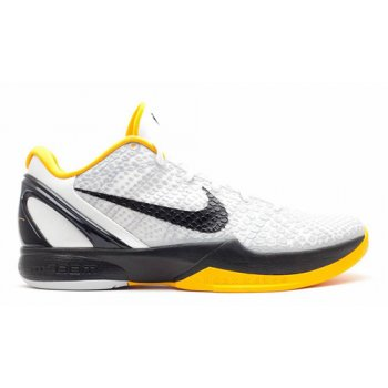 Shoes Hi top trainers Nike Kobe 6 Protro ?Del Sol? White/Neutral Grey-Del Sol-Black