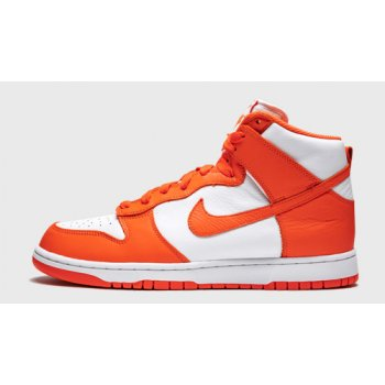 Shoes Hi top trainers Nike Dunk High ?Syracuse? White/Orange Blaze