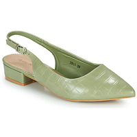 Shoes Women Heels Moony Mood OGORGEOUS Green / Almond