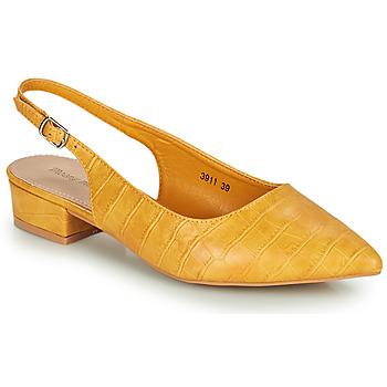 Shoes Women Heels Moony Mood OGORGEOUS Yellow