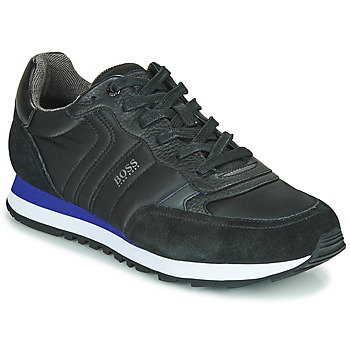 Shoes Men Low top trainers BOSS PARKOUR RUNN MX Black
