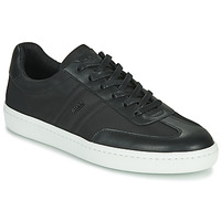 Shoes Men Low top trainers BOSS RIBEIRA TENN NYLT Black