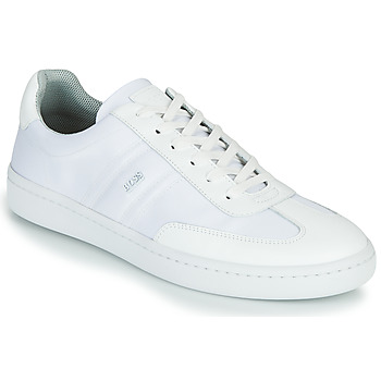 Shoes Men Low top trainers BOSS Ribeira_Tenn_nylt 10232896 White