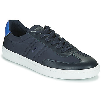 Shoes Men Low top trainers BOSS Ribeira_Tenn_nylt 10232896 Blue