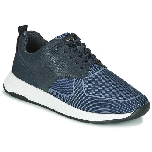 Shoes Men Low top trainers BOSS TITANIUM RUNN TBJQ Blue