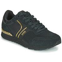 Shoes Men Low top trainers BOSS ARDICAL RUNN NYMX2 Black / Gold