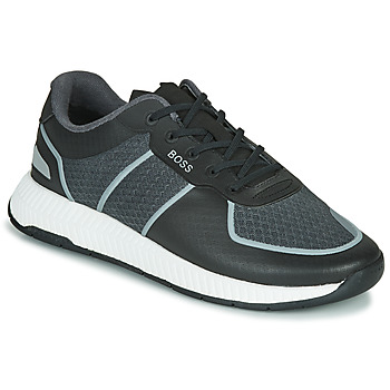 Shoes Men Low top trainers BOSS TITANIUM RUNN MEML Grey