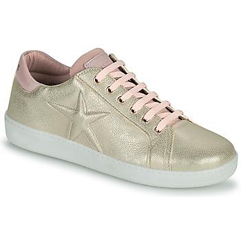 Shoes Girl Low top trainers Bisgaard TILDE Gold