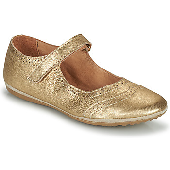 Shoes Girl Flat shoes Bisgaard RIA Gold