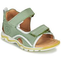 Shoes Children Outdoor sandals Bisgaard ARTHUR Green
