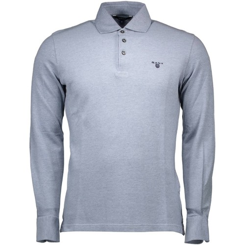 Clothing Men Long-sleeved polo shirts Gant