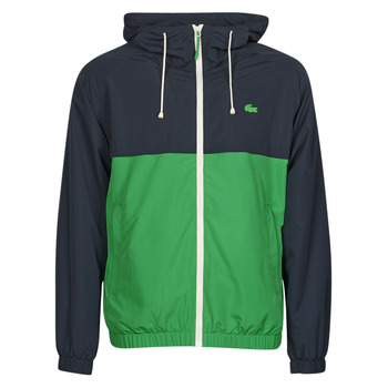 Clothing Men Jackets Lacoste TROPI Multicolour