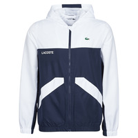 Clothing Men Jackets Lacoste SHANNA Marine / White