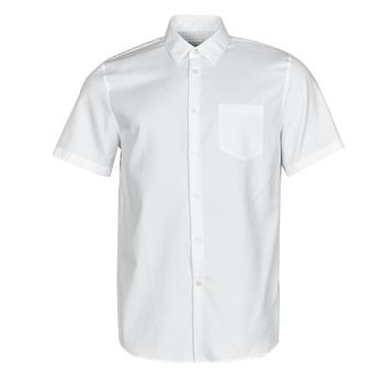 Clothing Men Short-sleeved shirts Lacoste FOLLA White