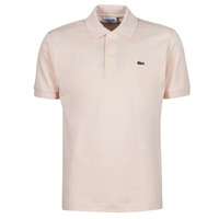 Clothing Men Short-sleeved polo shirts Lacoste POLO CLASSIQUE L.12.12 Pink