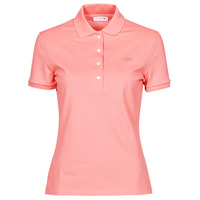 Clothing Women Short-sleeved polo shirts Lacoste POLO SLIM FIT Pink