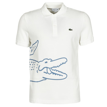 Clothing Men Short-sleeved polo shirts Lacoste POLO REGULAR FIT PH9739 White