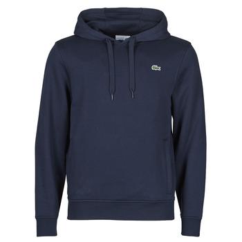 Clothing Men Sweaters Lacoste TOTTA Marine