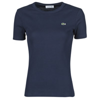 Clothing Women Short-sleeved t-shirts Lacoste TROLLA Marine